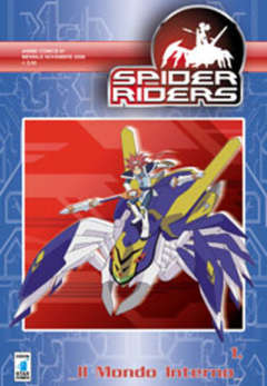 Copertina SPIDERS RIDERS ANIME n.1 - SPIDERS RIDERS 1, STAR COMICS