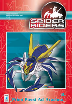 Copertina SPIDERS RIDERS ANIME n.3 - SPIDERS RIDERS 3, STAR COMICS