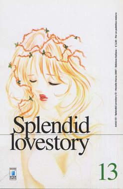 Copertina SPLENDID LOVESTORY n.13 - SPLENDID LOVESTORY (m18), STAR COMICS