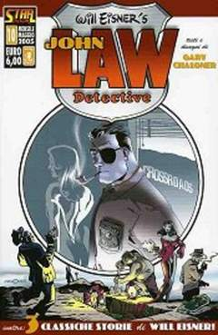 Copertina STAR BOOK n.10 - JOHN LAW DETECTIVE IN DEAD MAN WALKING, STAR COMICS