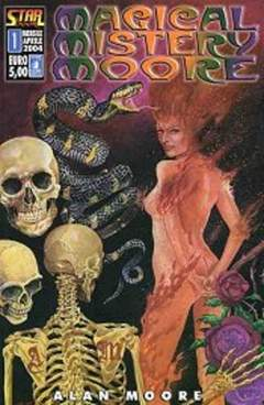 Copertina STAR BOOK n.1 - MAGICAL MISTERY MOORE VOL 1, STAR COMICS