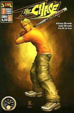Copertina STAR BOOK n.7 - THE CHASE, STAR COMICS