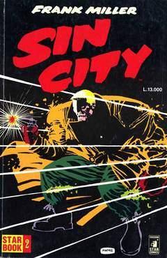 Copertina STAR BOOK VECCHIA SERIE n.2 - SIN CITY, STAR COMICS
