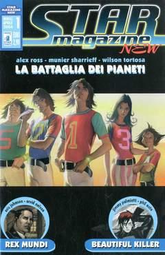 Copertina STARMAGAZINE NEW n.1 - BEAUTIFUL KILLER/BATTAGLIA DEI PIANETI/REX MUNDI, STAR COMICS