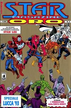 Copertina STARMAGAZINE ORO n.5 - STARMAGAZINE ORO 5, LUCCA 93, STAR COMICS