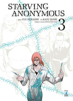 Copertina STARVING ANONYMOUS n.3 - STARVING ANONYMOUS 3, STAR COMICS