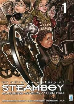 Copertina STEAM BOY n.1 - STEAM BOY 1 (m2), STAR COMICS