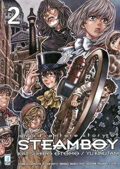 Copertina STEAM BOY n.2 - STEAM BOY 2 (m2), STAR COMICS