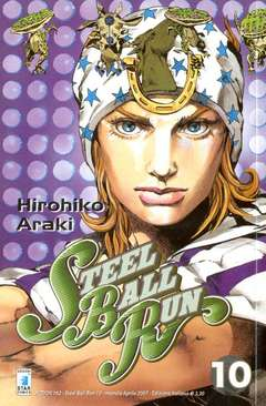 Copertina STEEL BALL RUN n.10 - STEEL BALL RUN 10, STAR COMICS