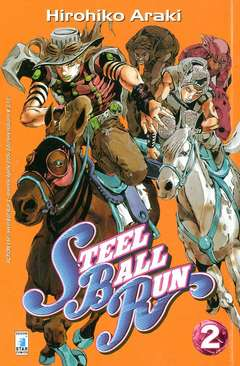 Copertina STEEL BALL RUN n.2 - STEEL BALL RUN 2, STAR COMICS