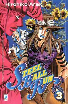 Copertina STEEL BALL RUN n.3 - STEEL BALL RUN 3, STAR COMICS