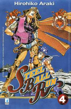 Copertina STEEL BALL RUN n.4 - STEEL BALL RUN 4, STAR COMICS