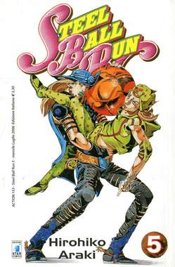 Copertina STEEL BALL RUN n.5 - STEEL BALL RUN 5, STAR COMICS
