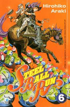 Copertina STEEL BALL RUN n.6 - STEEL BALL RUN 6, STAR COMICS