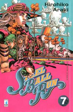 Copertina STEEL BALL RUN n.7 - STEEL BALL RUN 7, STAR COMICS