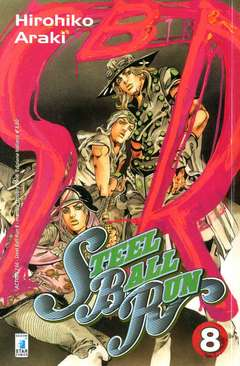 Copertina STEEL BALL RUN n.8 - STEEL BALL RUN 8, STAR COMICS