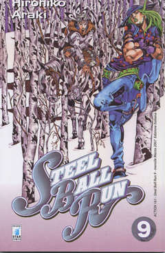 Copertina STEEL BALL RUN n.9 - STEEL BALL RUN 9, STAR COMICS