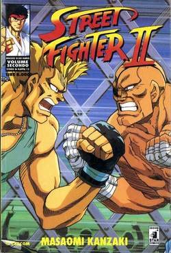 Copertina STREET FIGHTER II n.2 - STREET FIGHTER II 2, STAR COMICS