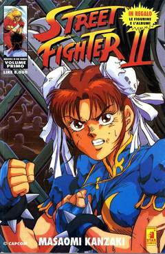 Copertina STREET FIGHTER II n. - STREET FIGHTER II 1, STAR COMICS