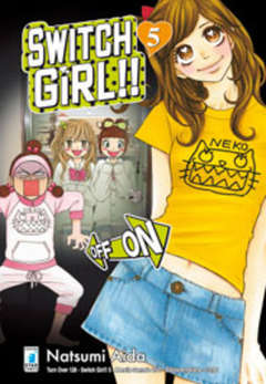 Copertina SWITCH GIRL!! n.5 - SWITCH GIRL!! 5 (m9), STAR COMICS