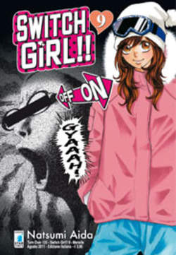 Copertina SWITCH GIRL!! n.9 - SWITCH GIRL!! 9, STAR COMICS
