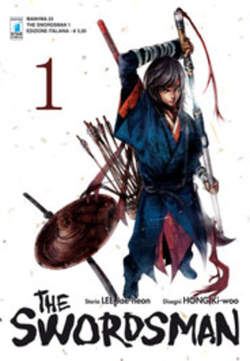 Copertina SWORDSMAN n.1 - SWORDSMAN (m9), STAR COMICS
