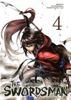 Copertina SWORDSMAN n.4 - SWORDSMAN (m9), STAR COMICS