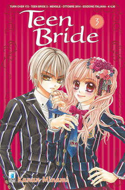 Copertina TEEN BRIDE n.3 - TEEN BRIDE 3, STAR COMICS