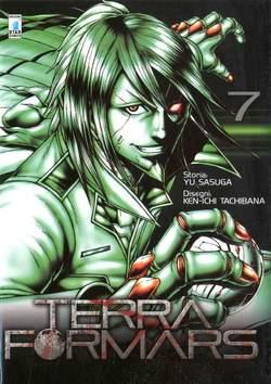 Copertina TERRA FORMARS n.7 - TERRA FORMARS 7, STAR COMICS
