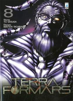 Copertina TERRA FORMARS n.8 - TERRA FORMARS 8, STAR COMICS