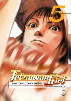 Copertina TETSUWAN GIRL n.5 - TETSUWAN GIRL 5, STAR COMICS