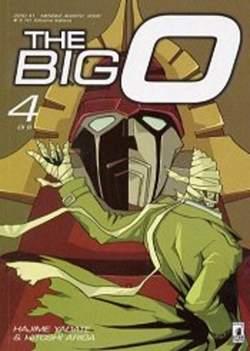 Copertina THE BIG O n.4 - THE BIG O 4, STAR COMICS