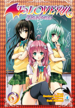 Copertina TO LOVE-RU DARKNESS (m18) n.3 - DARKNESS, STAR COMICS