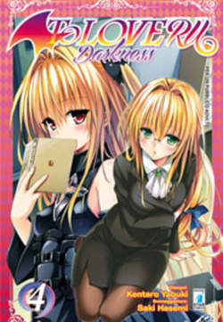 Copertina TO LOVE-RU DARKNESS (m18) n.4 - DARKNESS, STAR COMICS