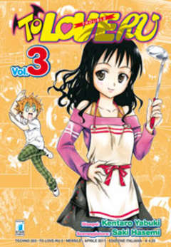 Copertina TO LOVE RU n.3 - TO LOVE RU 3 (m18), STAR COMICS
