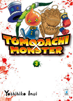 Copertina TOMODACHI X MONSTER n.3 - TOMODACHI X MONSTER 3 (m3), STAR COMICS