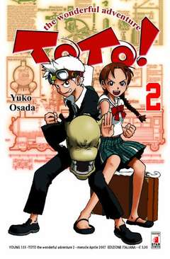 Copertina TOTO! n.2 - TOTO! WONDERFUL ADVENTURE (m5), STAR COMICS