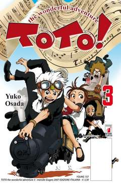 Copertina TOTO! n.3 - TOTO! WONDERFUL ADVENTURE (m5), STAR COMICS