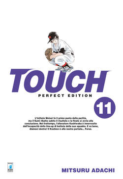 Copertina TOUCH PERFECT EDITION (m12) n.11 - TOUCH PERFECT EDITION, STAR COMICS