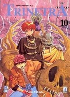 Copertina TRINETRA n.10 - 3X3 OCCHI 10, STAR COMICS