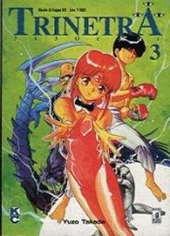 Copertina TRINETRA n.3 - 3X3 OCCHI 3, STAR COMICS