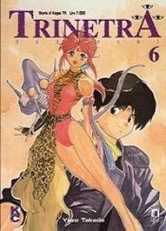 Copertina TRINETRA n.6 - 3X3 OCCHI 6, STAR COMICS