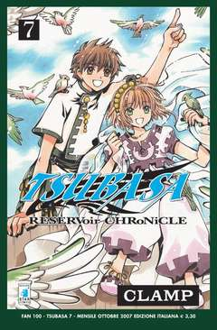 Copertina TSUBASA n.7 - RESERVOIR CHRONICLE, STAR COMICS
