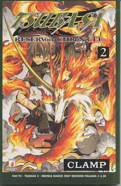 Copertina TSUBASA n.2 - RESERVOIR CHRONICLE 2, STAR COMICS