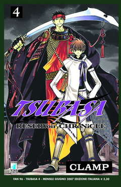 Copertina TSUBASA n.4 - RESERVOIR CHRONICLE 4, STAR COMICS