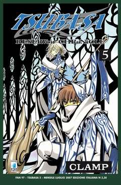 Copertina TSUBASA n.5 - RESERVOIR CHRONICLE 5, STAR COMICS