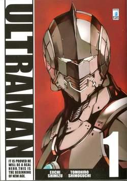Copertina ULTRAMAN n.1 - ULTRAMAN 1, STAR COMICS
