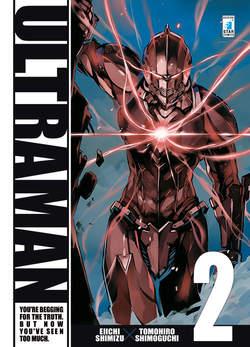 Copertina ULTRAMAN n.2 - ULTRAMAN 2, STAR COMICS