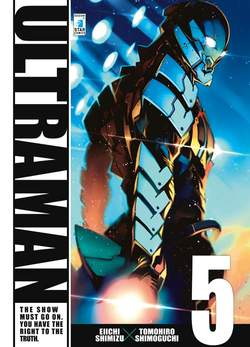 Copertina ULTRAMAN n.5 - ULTRAMAN 5, STAR COMICS
