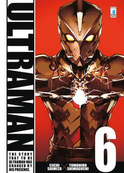 Copertina ULTRAMAN n.6 - ULTRAMAN 6, STAR COMICS
